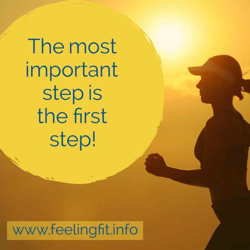 The Most Important Step Is The First Step - Here are tips for making the most of your new Fitbit activity tracking device from www.feelingfit.info