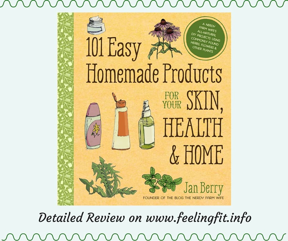 Simple Book Cover Review : Review easy homemade products by jan berry feeling