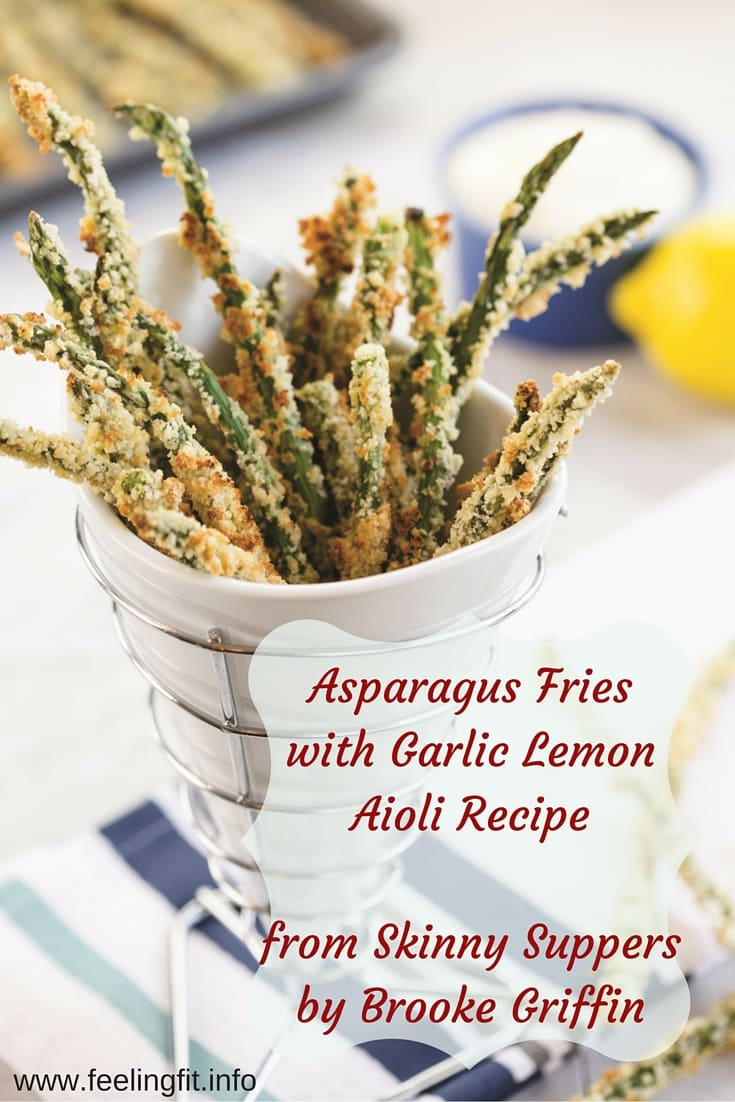 Asparagus Fries with Garlic Lemon Aioli Recipe
