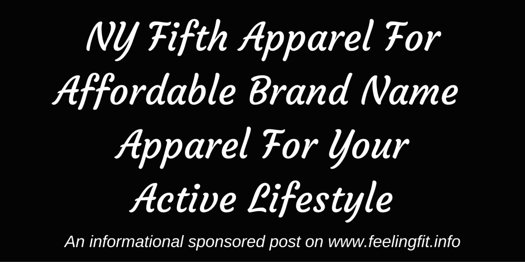 NY Fifth ApparelAffordable Brand Name Active Wear