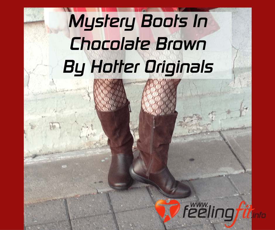 Review of Mystery Boots by Hotter Shoes in chocolate brown