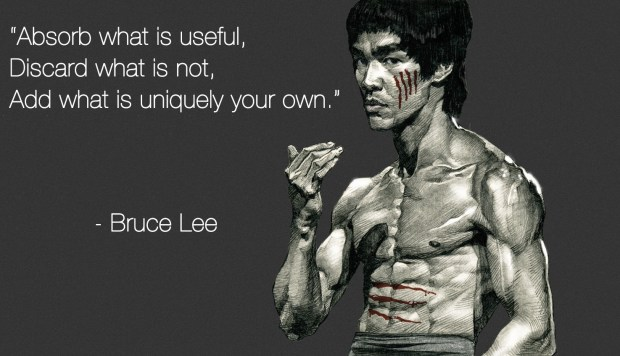Bruce Lee Absorb