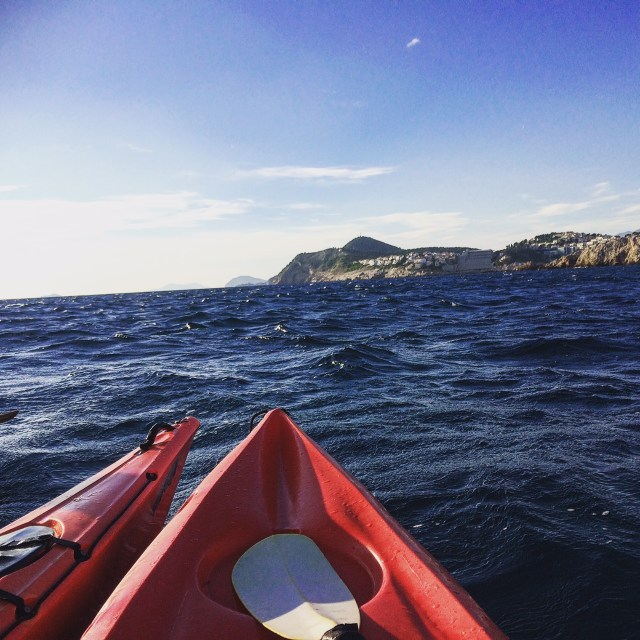 Kayaking in Dubrovnik, Croatia