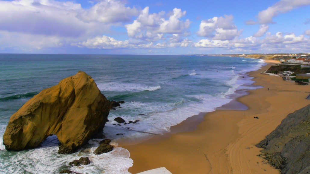 Santa cruz, a encantadora praia de Santa Cruz