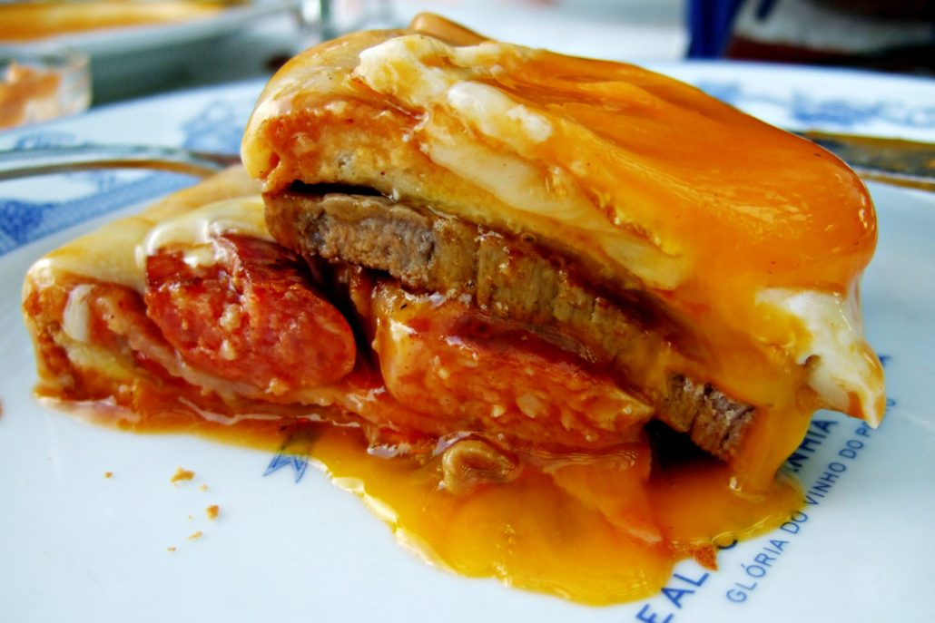 Francesinha à moda… do mundo