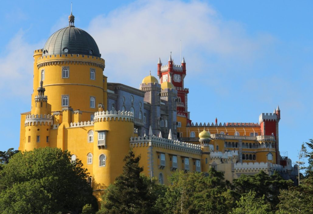 Os recantos mágicos de Sintra