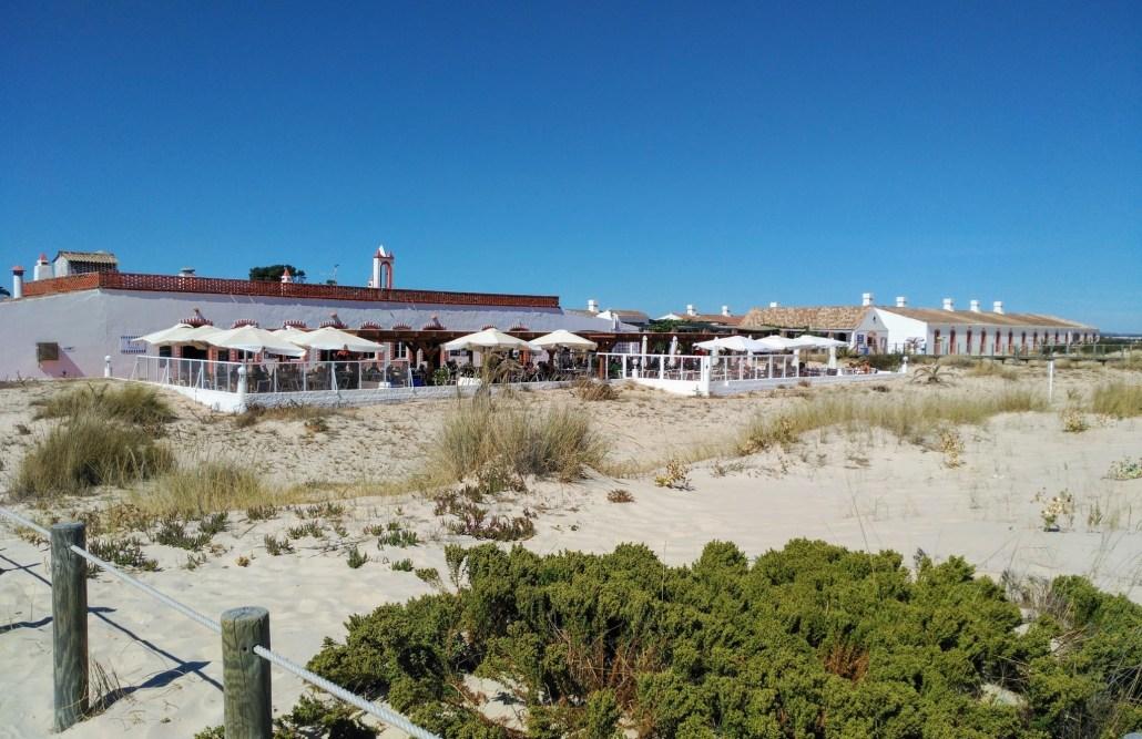 Restauração na Praia do Barril