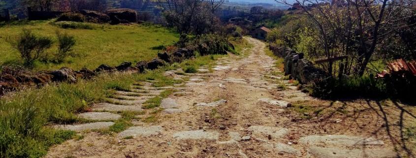 Calçada Romana - Linhares da Beira