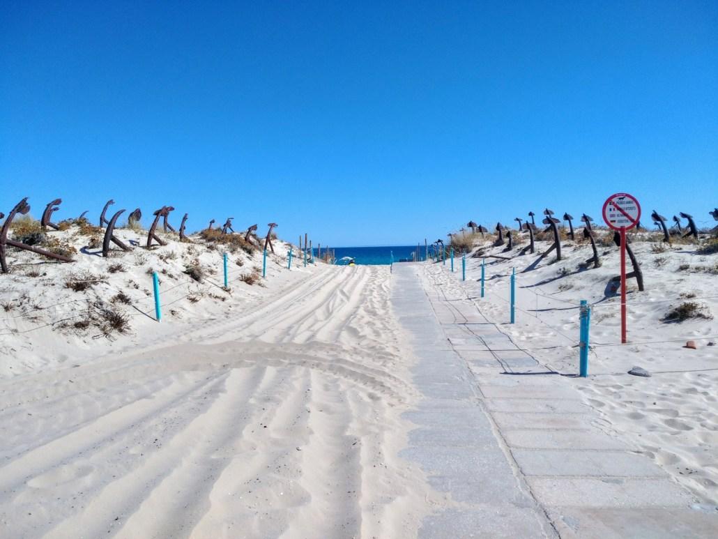 Praias mais bonitas do Algarve - Praia do Barril, Tavira