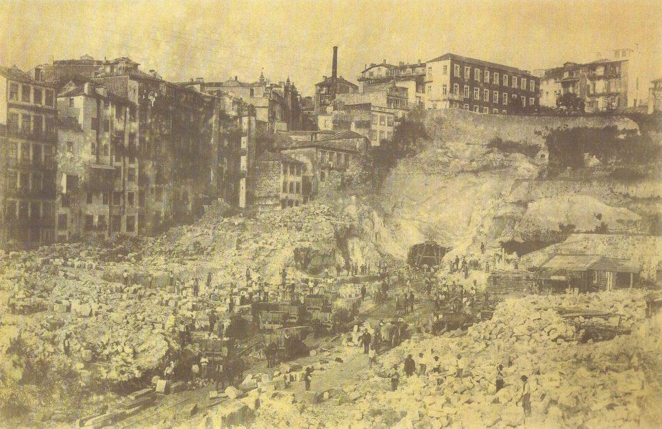 Obras da Gare de S.Bento - Os Caminhos de Ferro Portugueses - 1856-2006