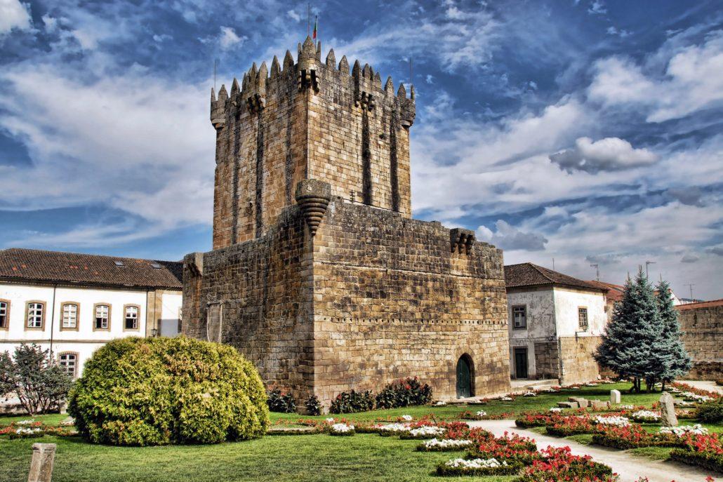 O Que Visitar Em Chaves Castelo De Chaves - Wikicommons