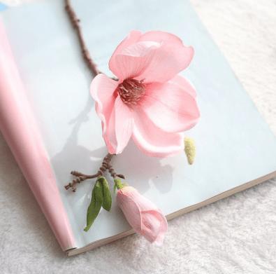 Magnolia kunstbloem
