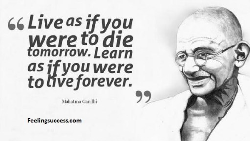 mahatma gandhi quotes- feelingsuccess