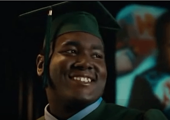the blind side courage and honor scene feelingsuccess