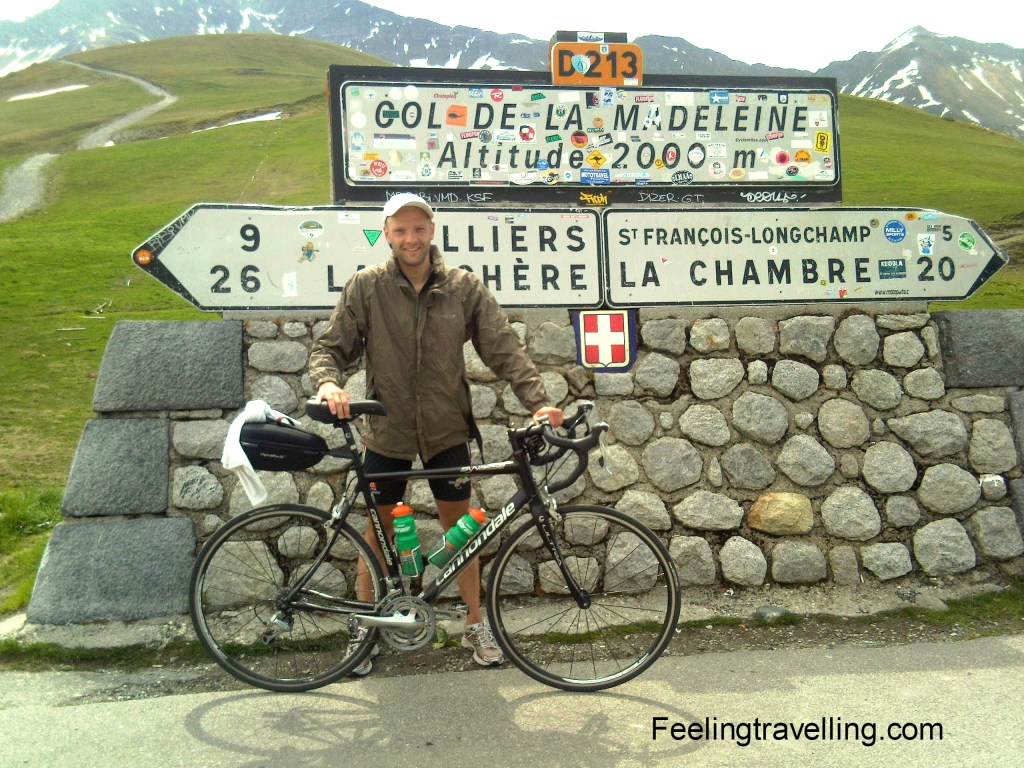 biking from holland to italy
