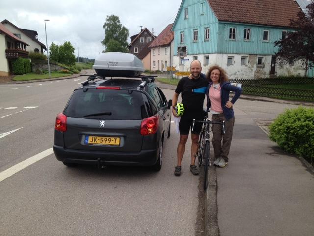 En bici de Holanda a Alemania