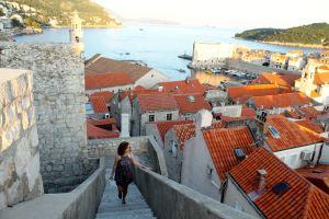 Dubrovnik, ruta en bicicleta desde croacia a montenegro