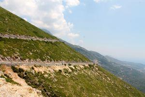 ruta en bicicleta desde Albania a Grecia