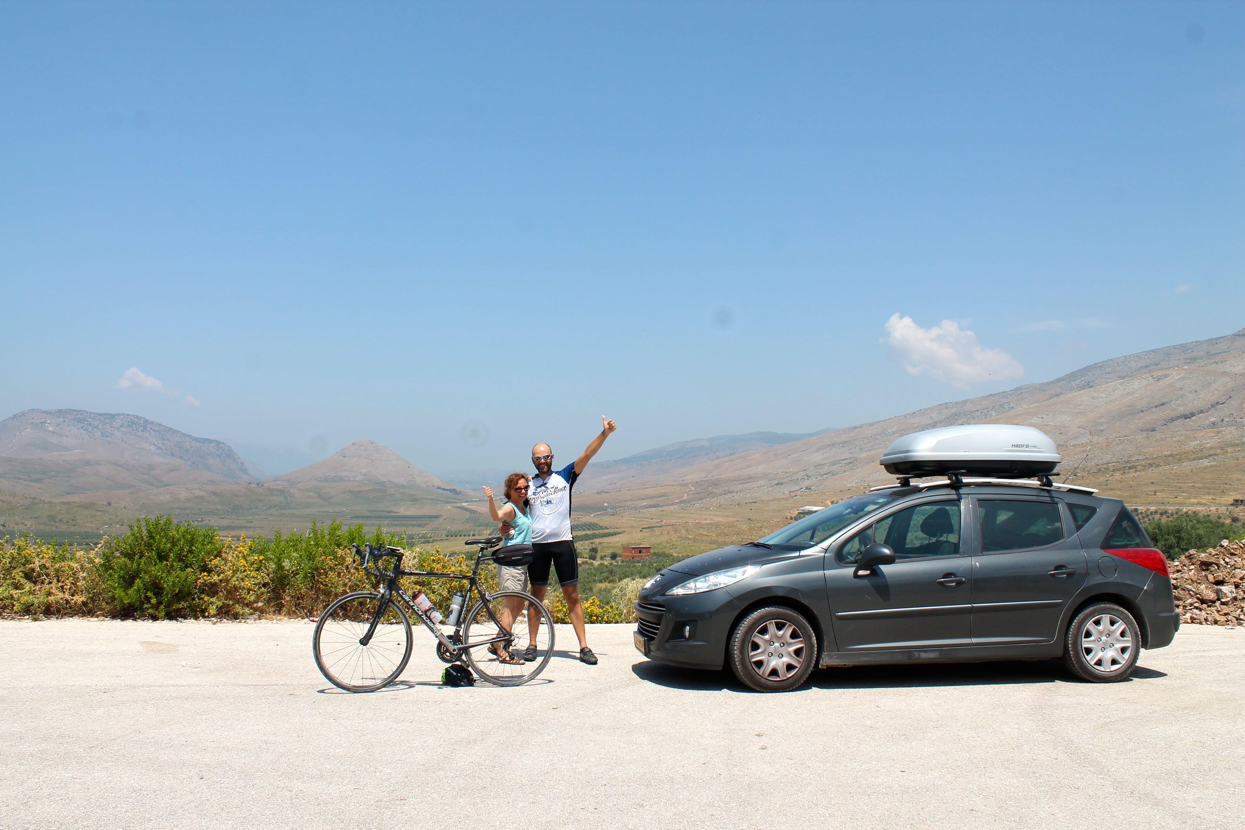 En bicicleta desde Albania hasta Grecia