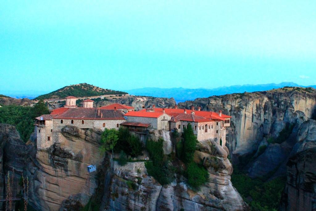 Meteora and its 6 monasteries