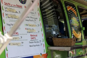 The Pickle food truck at Festival on Ponce art festival