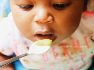 My breastfeeding journey-spoon feeding baby