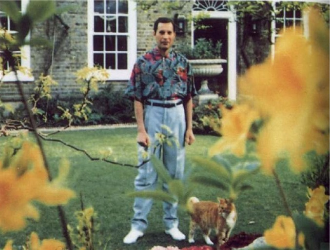 Freddie Mercury Last Photo Logan Place Queen