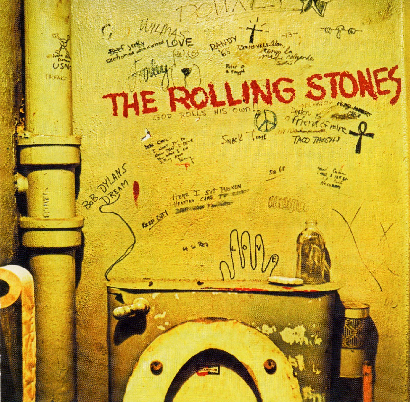 Image result for beggars banquet album cover