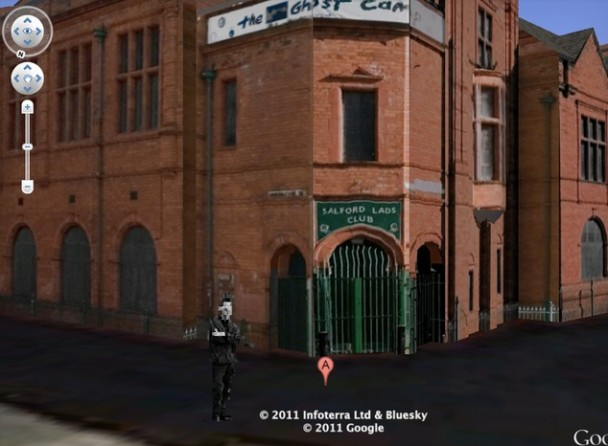 Morrissey On Google Earth Salford Lads Club