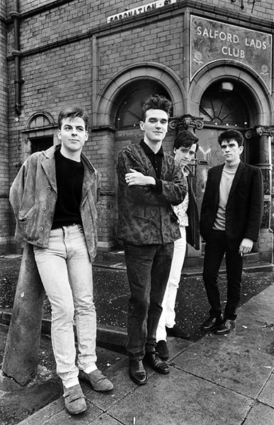 The Smiths The Queen Is Dead Salford Lads Club Google Earth