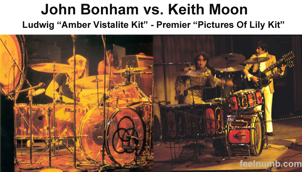 Keith Moon Pictures Of Lily John Bonham Amber Vistalite