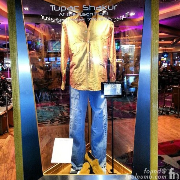 2Pac Outfit Las Vegas Mike Tyson Fight