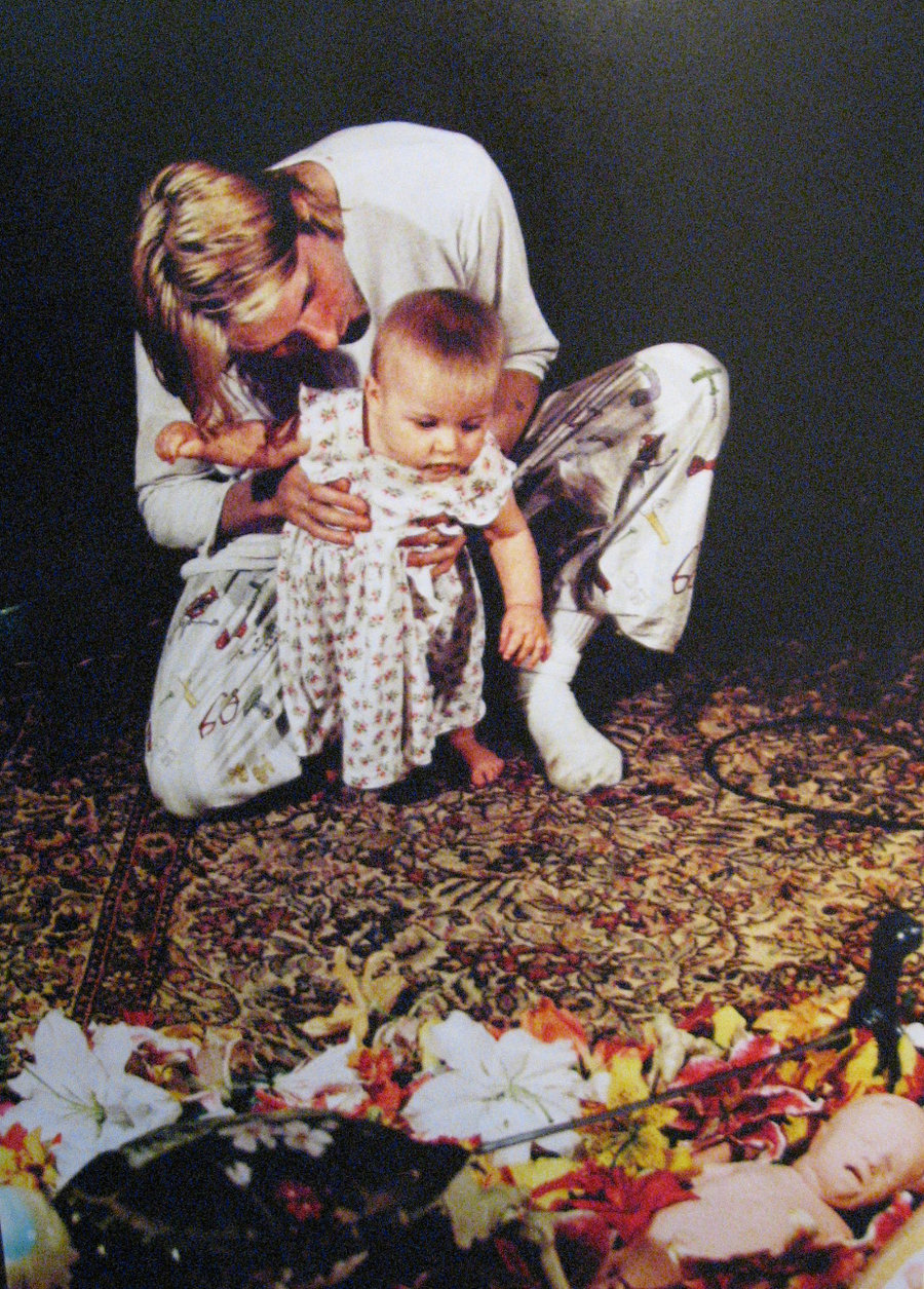 Kurt Cobains Collage Used For The Back Cover of Nirvana In Utero  FeelNumbcom