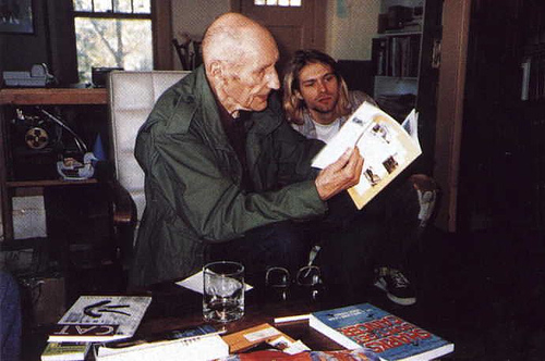 Kurt Cobain WIlliam S. Burroughs 1993 Meeting