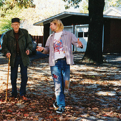 Kurt Cobain WIlliam S. Burroughs Meeting 1993