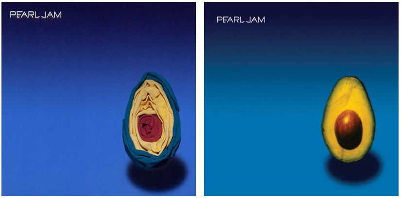 Pearl Jam Avocado Album Socks Album Art