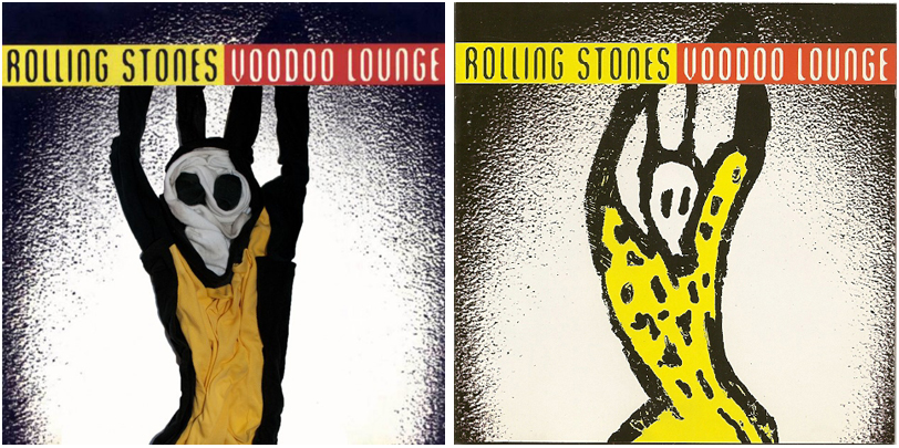 The Rolling Stones Voodoo Lounge Sock Album Cover