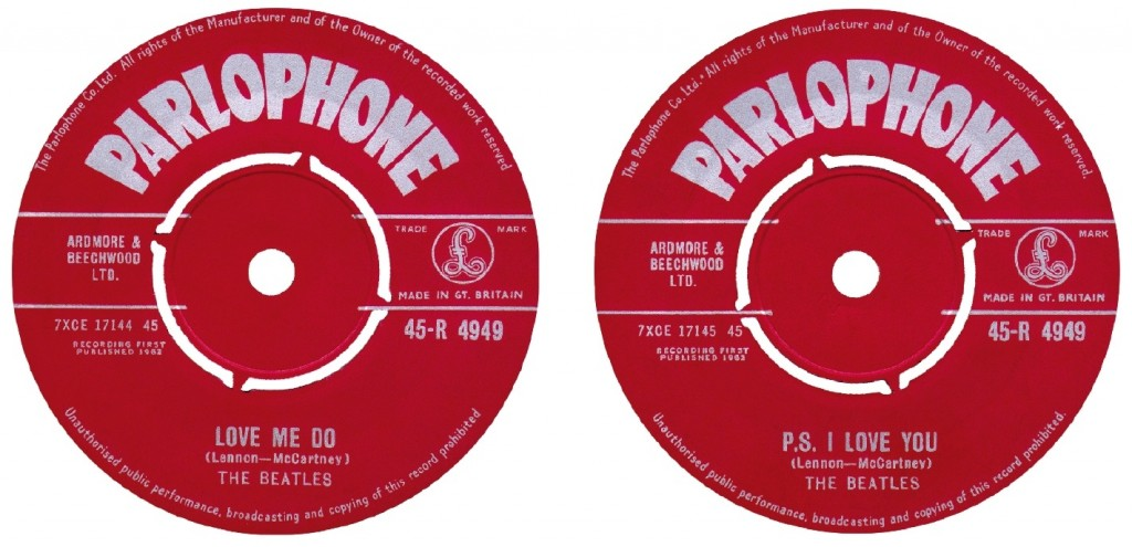 The Beatles Love Me Do P.S. I Love You SIngle Parlophone 1962