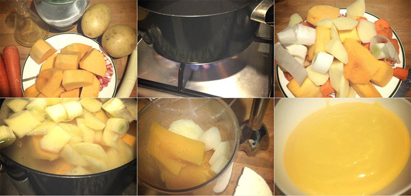 Pasos Crema de Calabaza | Feelomena's Kitchen - Web Oficial