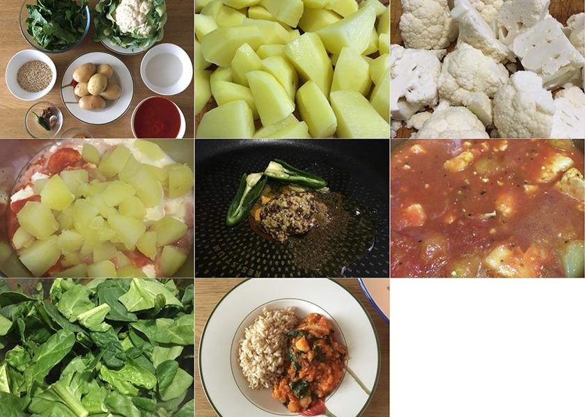 Pasos curri de Coliflor | Feelomena's Kitchen - Web Oficial
