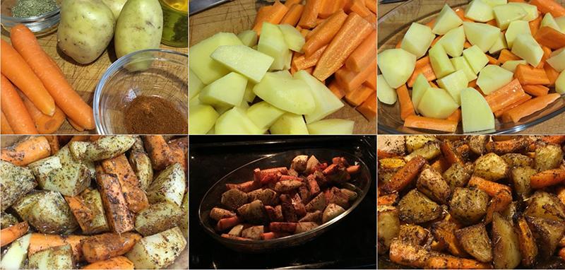 Pasos Verduras Asadas | Feelomena's Kitchen