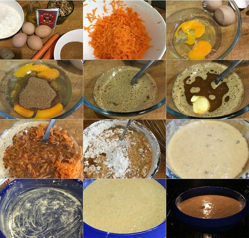 Pastel de zanahoria | Feelomena's Kitchen - Web Oficial