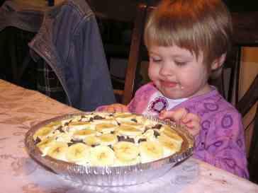 Yummy Banana Cream Pie