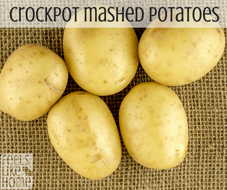 Easy crock pot mashed potato recipes