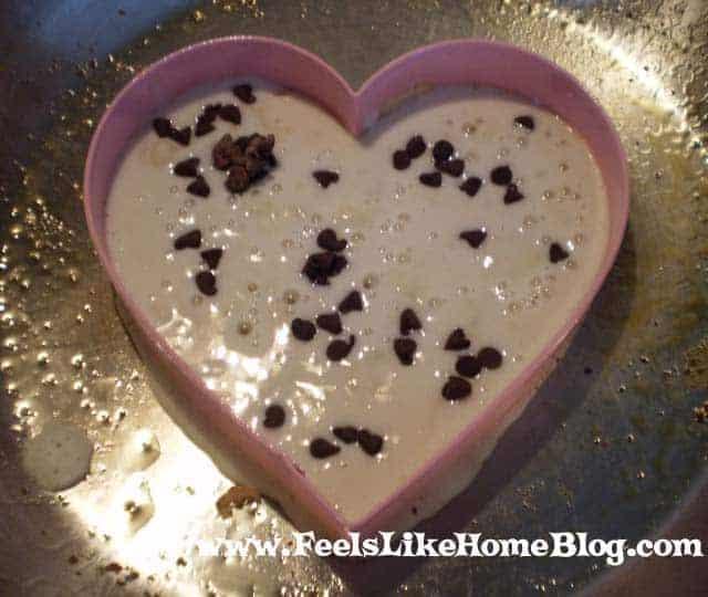 jar banana oatmeal chocolate chip cookies heart shaped chocolate chip ...