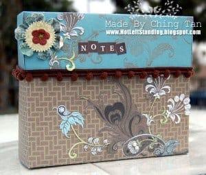 Homemade Stationery Box