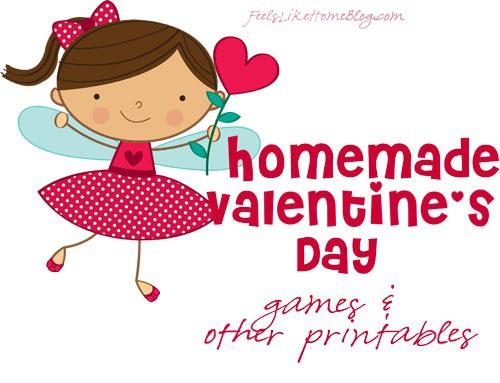 printable valentines games
