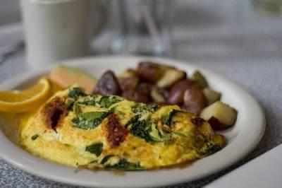 sundried tomato omelet