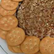 Buffalo Cheese Ball featuring Simply Dressed by Marzetti