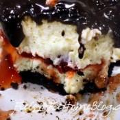 Chocolate Cherry Cheesecake